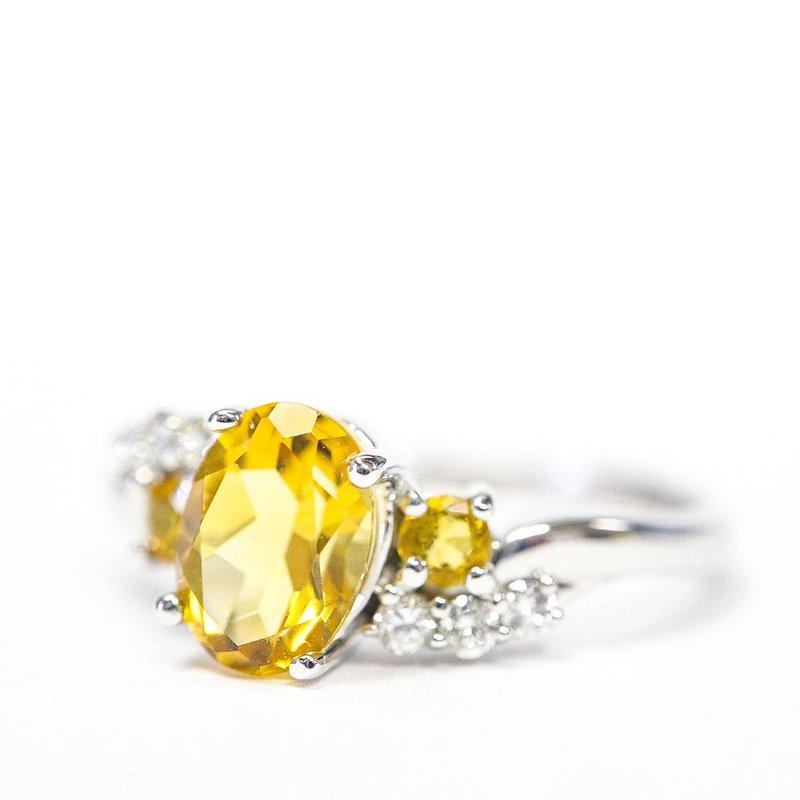 Diamond Days Citrine & diamond Ring