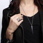 Bijoux Birks BIRKS ROCK & PEARL Silver Necklace