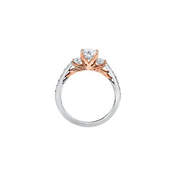 Eternal Flames Engagement Rings