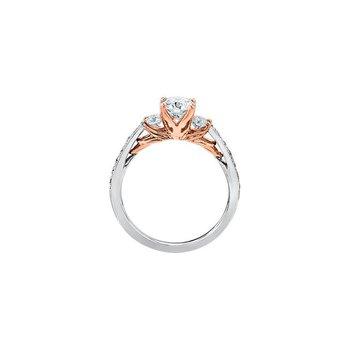 Eternal Flames Engagement Rings