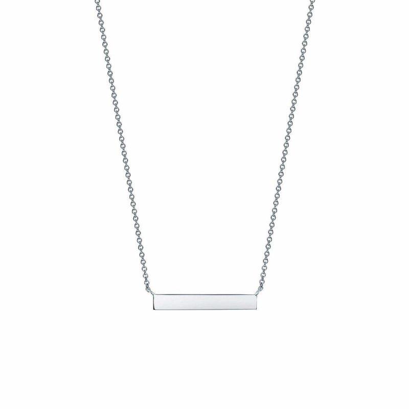 Bijoux Birks BIRKS ESSENTIALS Silver Horizontal Bar Necklace