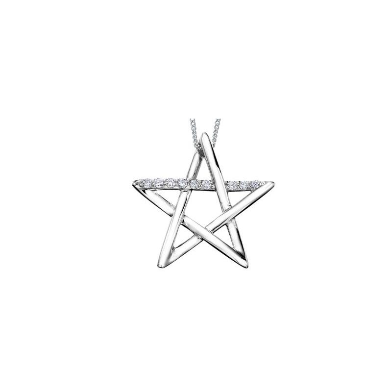 Diamond Days Diamond Star Pendant
