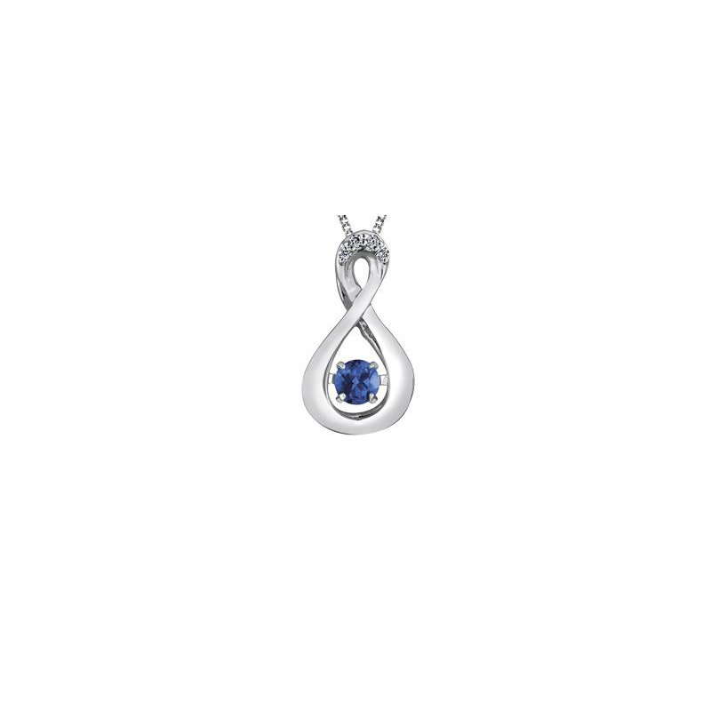 Diamond Days Birthstone Pulse Pendant