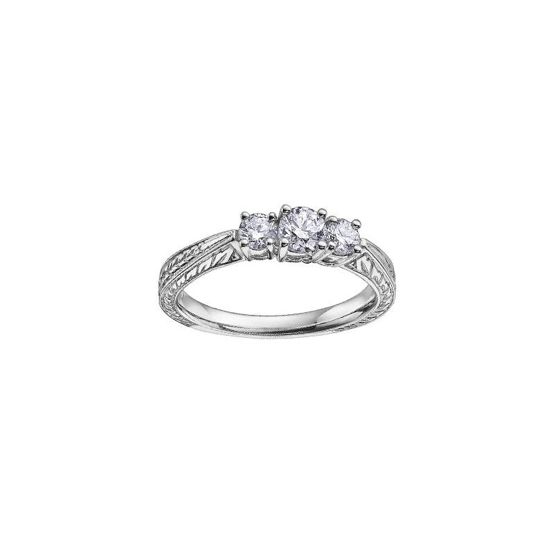 Diamond Days Three Stone Diamond Ring