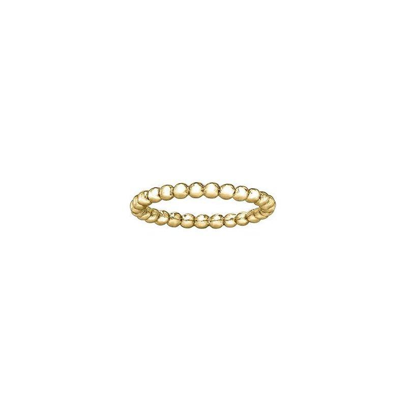 Diamond Days Yellow Gold Stacking Ring
