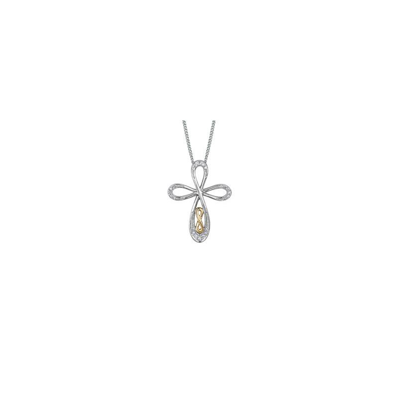 Diamond Days Cross Diamond Pendant