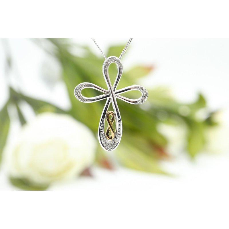 Diamond Days Cross Diamond Pendant