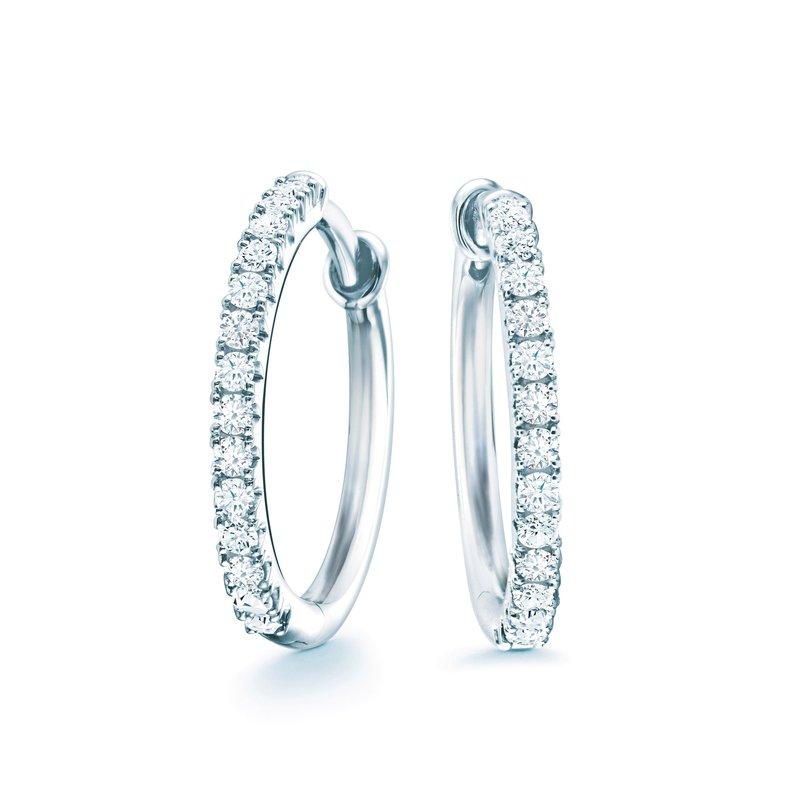 BIRKS ROSÉE DU MATIN- Small Diamond Hoop Earrings