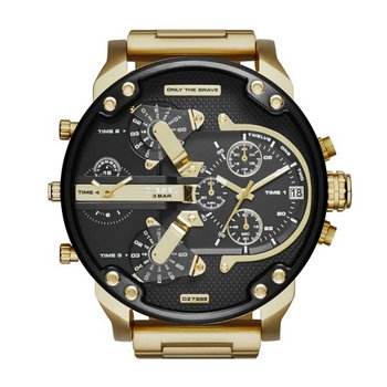 Black Face- Gold-Tone Watch