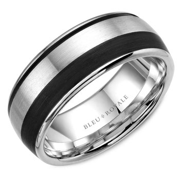 Bleu Royale Men's Wedding Band RYL-014WB85