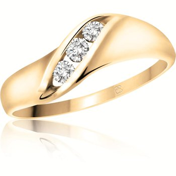 3 Stone Promise Ring