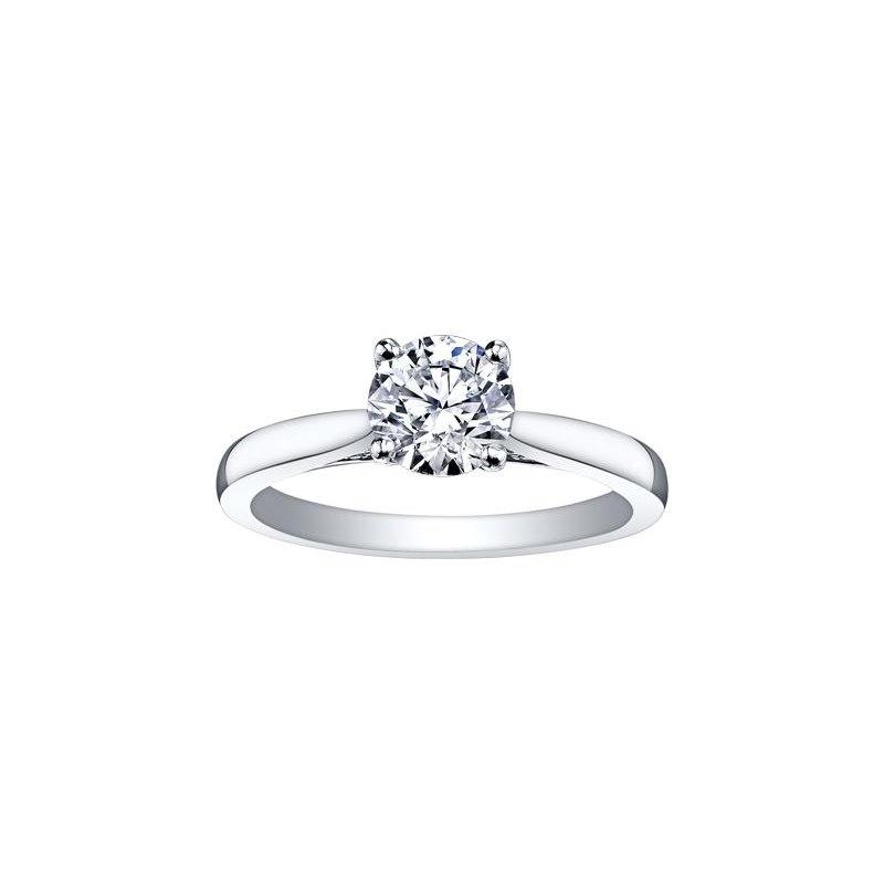 Maple Leaf Diamonds 1.00CT Solitaire Ring