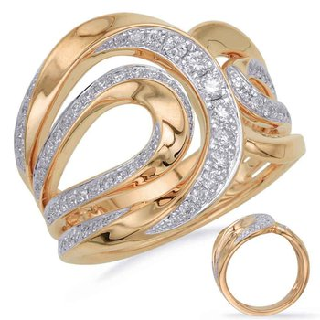 Yellow Gold Diamond Dinner Ring