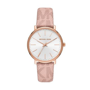 Pyper Logo and Rose Gold-Tone Watch