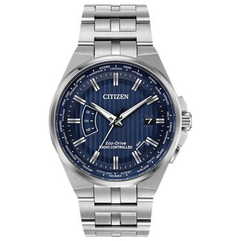 Men's Eco-Drive Watch- World Perpetual A-T