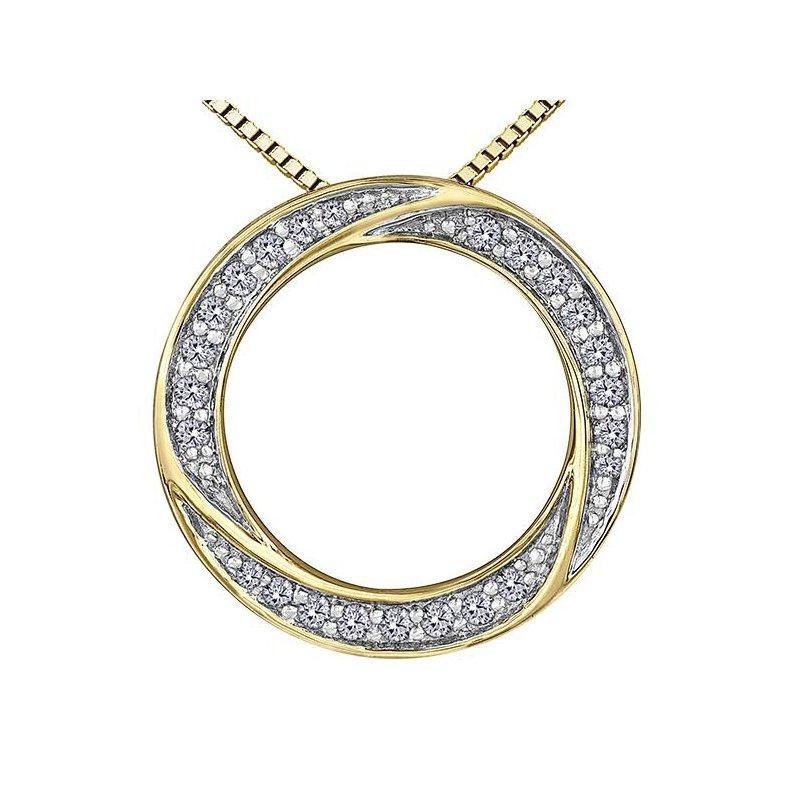 Diamond Days O Diamond Pendant