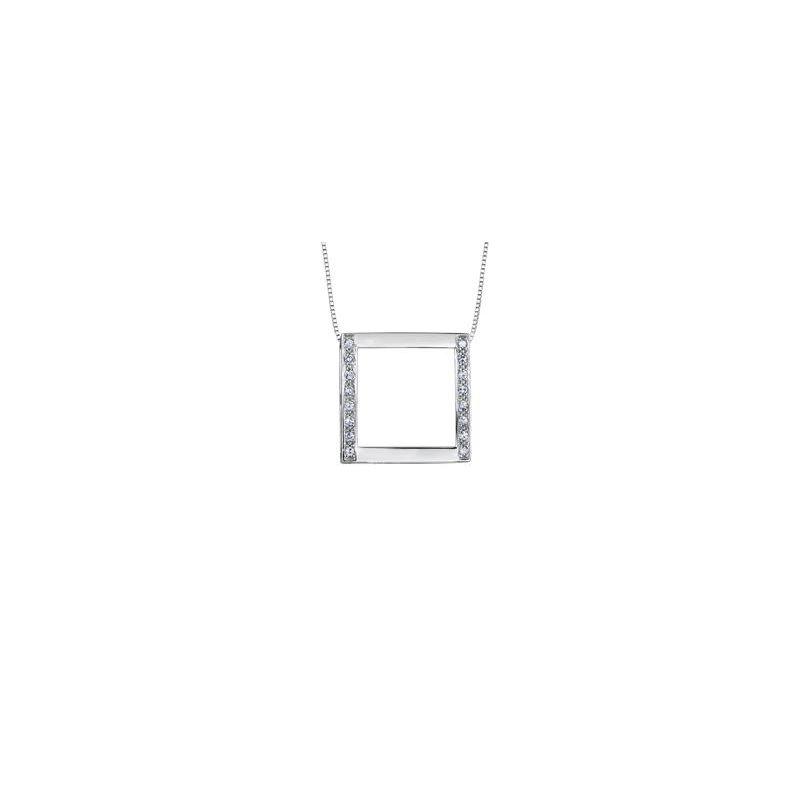 Diamond Days Square Diamond Pendant