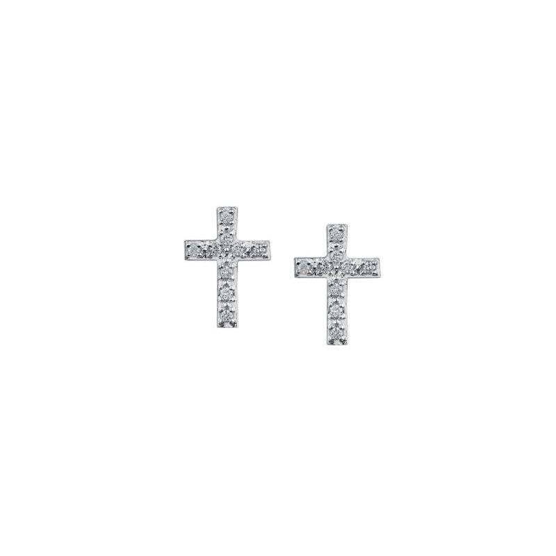 Diamond Days Diamond Cross Studs