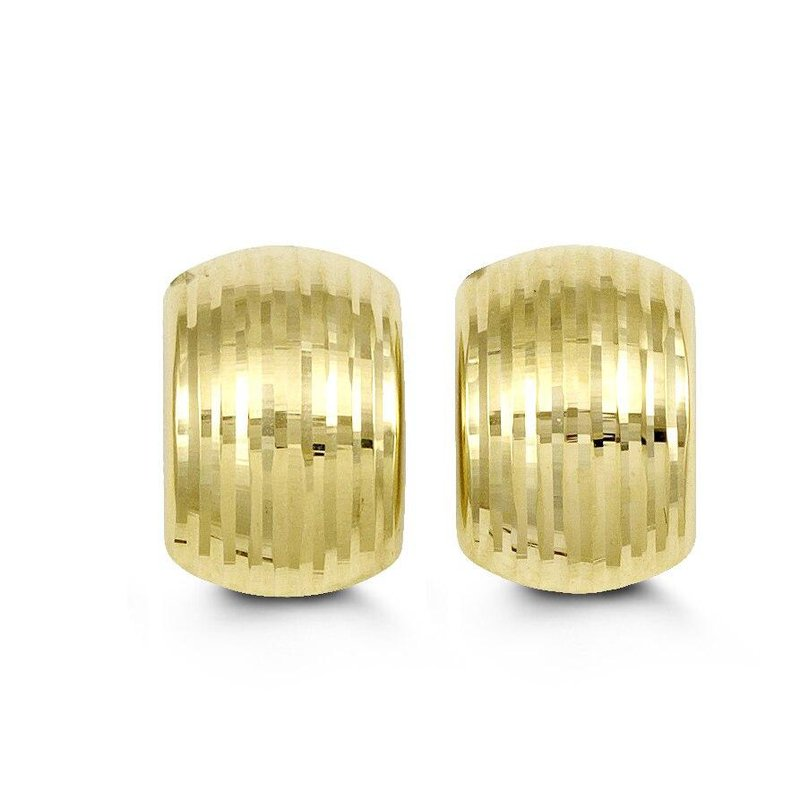 Richardson Signature Yellow Gold Stud Earrins