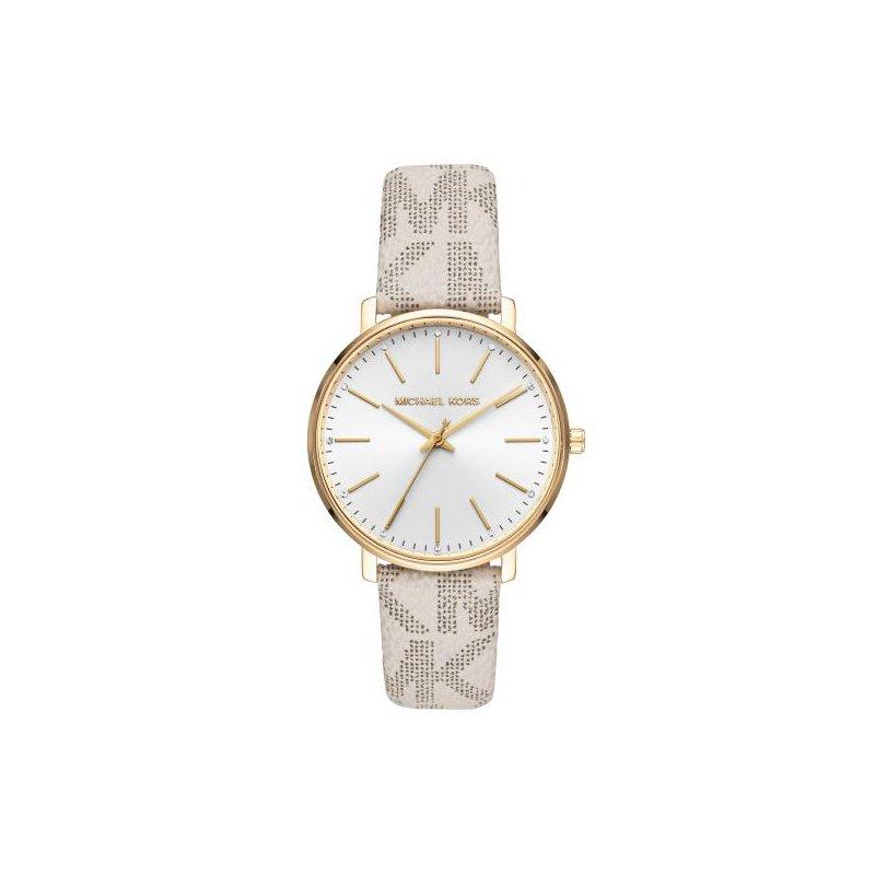 Michael Kors Pyper Logo & Gold-Tone Watch