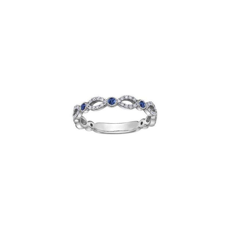 Diamond Days Sapphire & Diamond Ring