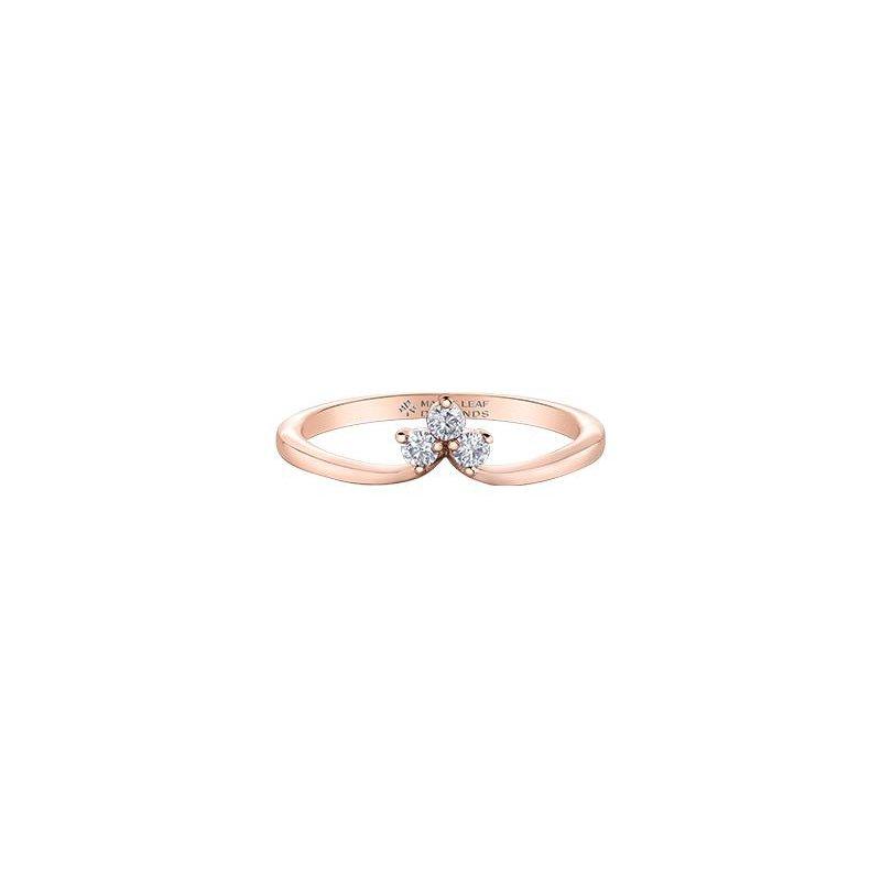 Diamond Days Diamond & Rose Gold Ring
