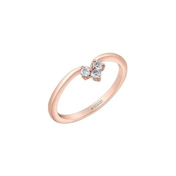 Diamond & Rose Gold Ring