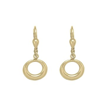 Yellow Gold Drop Dangle