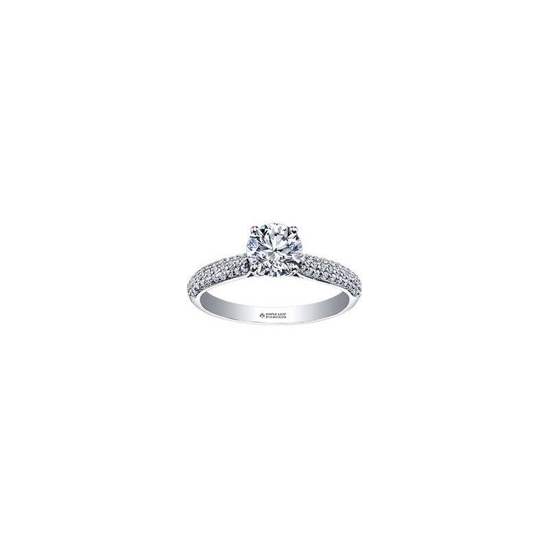Maple Leaf Diamonds White Gold Diamond Ring