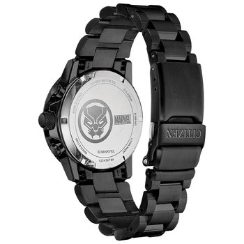 Men's Eco-Drive Watch- Black Panther