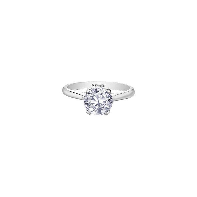 Maple Leaf Diamonds 1.87CT Solitaire  Ring