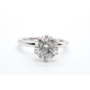 2.04CT Diamond Solitaire Ring