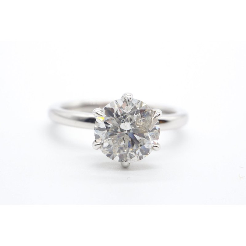 Maple Leaf Diamonds 2.04CT Diamond Solitaire Ring