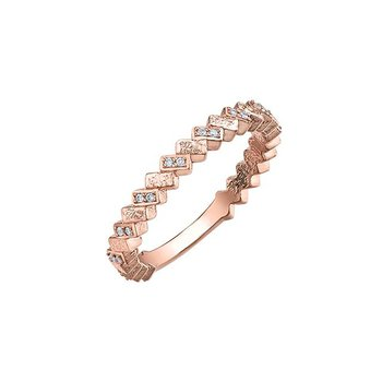Rose Gold & Diamond Ring