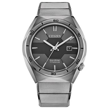Men's Eco-Drive Watch- Super Titanium Armor