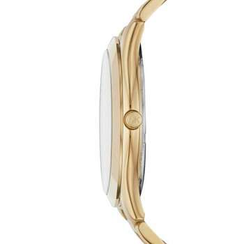 Slim Runway Gold-Tone Watch