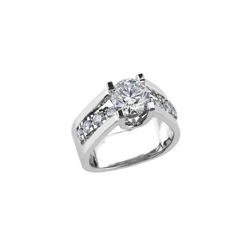 2.01CT Diamond Engagement Ring