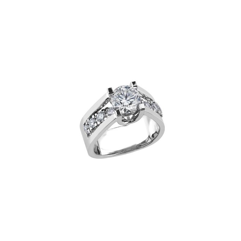 Maple Leaf Diamonds 2.01CT Diamond Engagement Ring