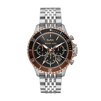 Bayville Chronograph Silver-Tone Watch