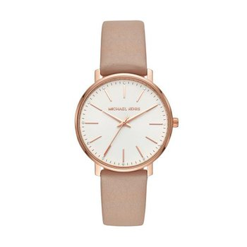 Pyper Brown Leather Strap Watch