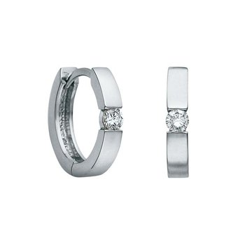 0.20CTW Diamond Solitaire Huggies
