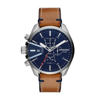 MS9 Brown Leather Strap Watch