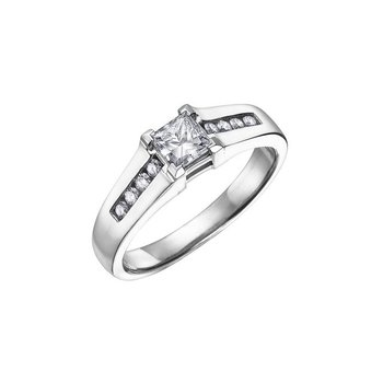 0.41CT Diamond Engagement Ring