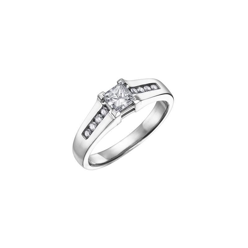 Maple Leaf Diamonds 0.41CT Diamond Engagement Ring