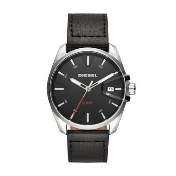 MS9 Black Leather Strap Watch