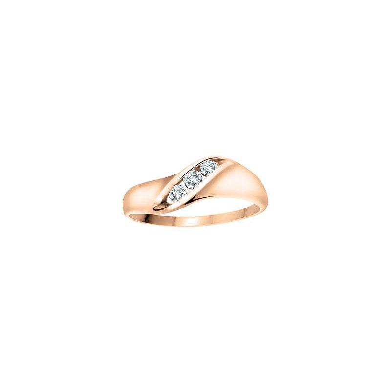 Diamond Days 3 Stone Promise Ring