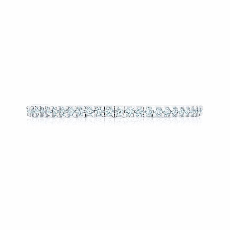 Bijoux Birks BIRKS ICONIC Stackable White Gold and Diamond Ring