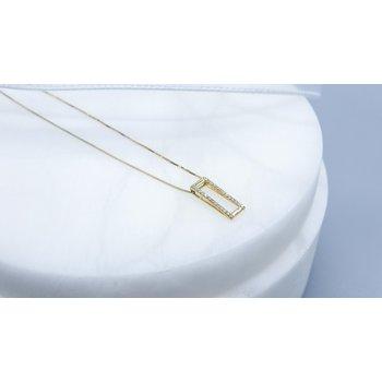 Yellow Gold Diamond Pendant