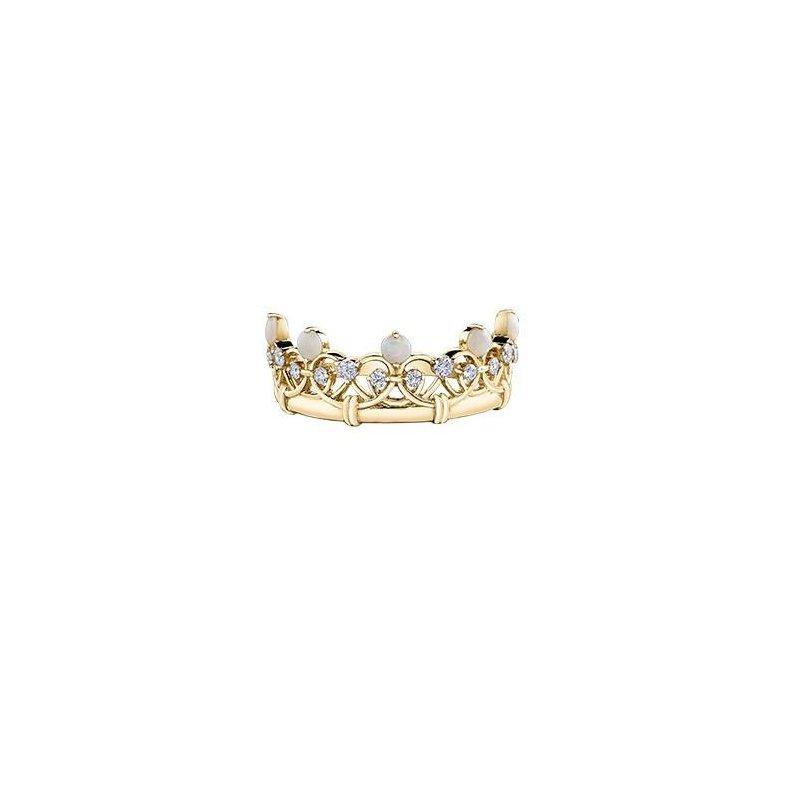 Diamond Days Opal Tiara Ring