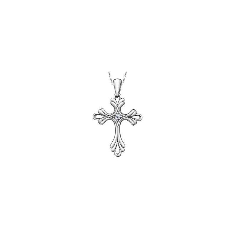 Diamond Days Diamond Cross Pendant